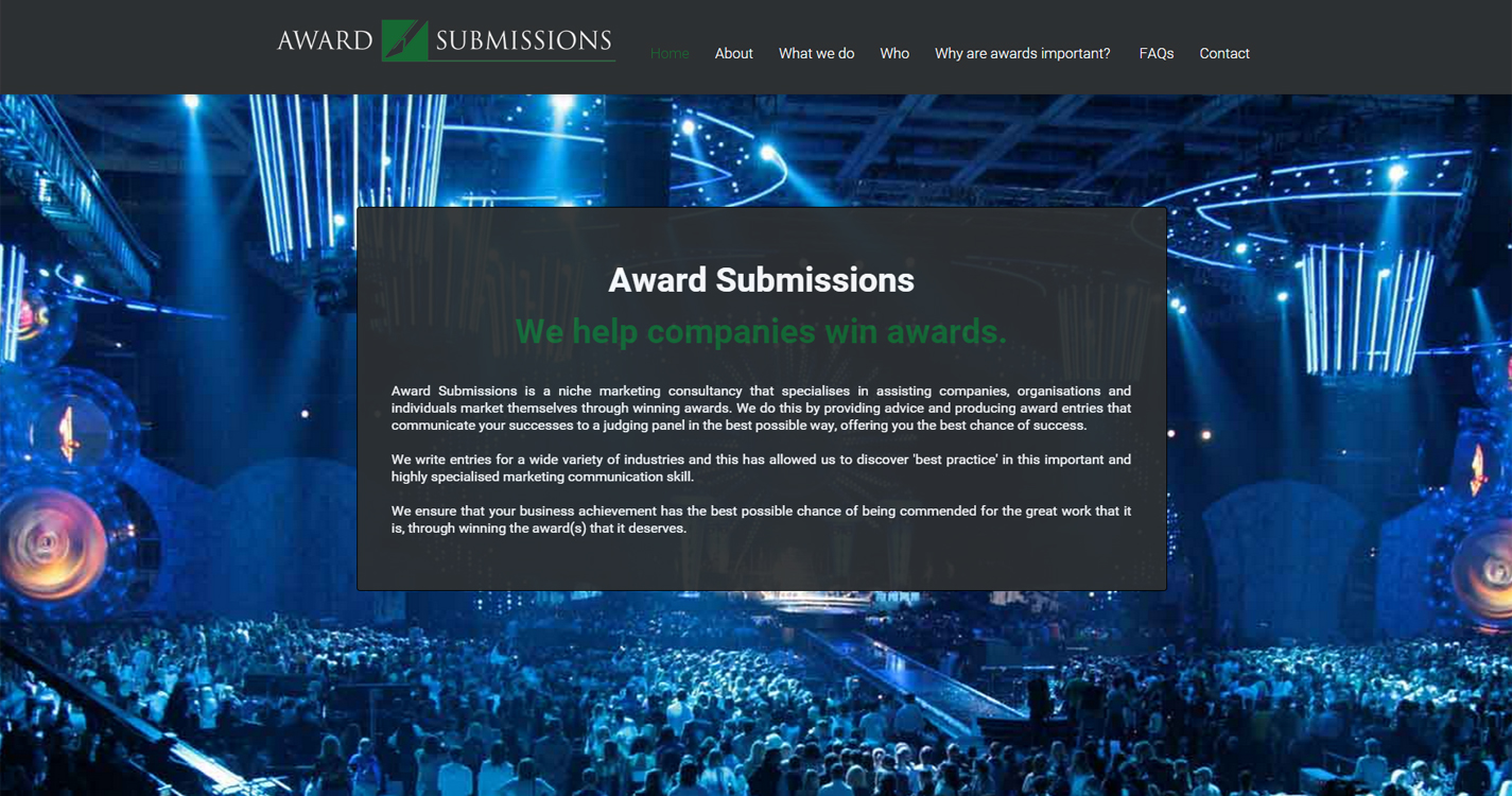 Award Submissions