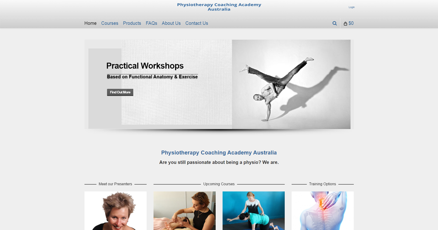 Physiotherapy Coaching Academy Australia